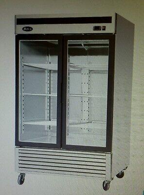Atosa Mcf8703 Two Door Reach-in Merchandiser Freezer