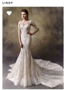 Lightly Used Wedding Gown - Enzoani Lindy