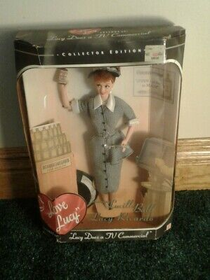 "Barbie ""I Love Lucy""  Lucy Does a TV Commercial Episode 30 Collector Ed 1997 COA"