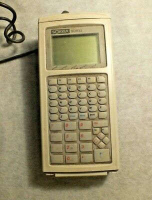 Sokkia Sdr33 Data Collector For Total Station Parts Onlynot Working
