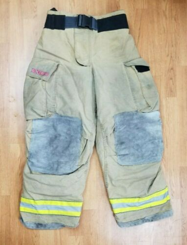 Globe Gxtreme Firefighter Bunker Turnout Pants 36 x 30