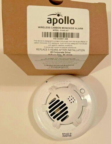NEW Apollo Wireless Carbon Monoxide Alarm 51000-307
