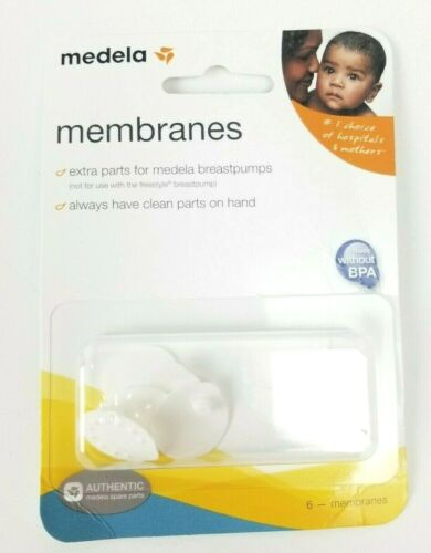 Medela Breast Pump Membranes 6 pack Authentic #87088 NEW