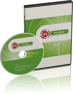 Flexi Starter Flexistarter Version 12 Sign Cutting Software Permanent License