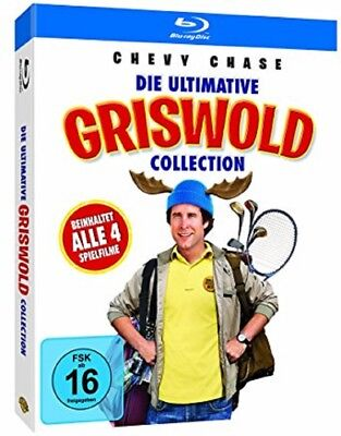 Die ultimative Griswold Collection Blu-ray NEU OVP 4 Filme u.a Schöne Bescherung