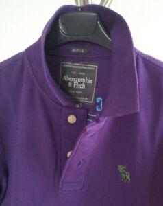 Poloshirt Abercrombie & Fitch A&F Herren Kurzarm Violett Gr. M - Graz-Puntigam, Österreich - Poloshirt Abercrombie & Fitch A&F Herren Kurzarm Violett Gr. M - Graz-Puntigam, Österreich