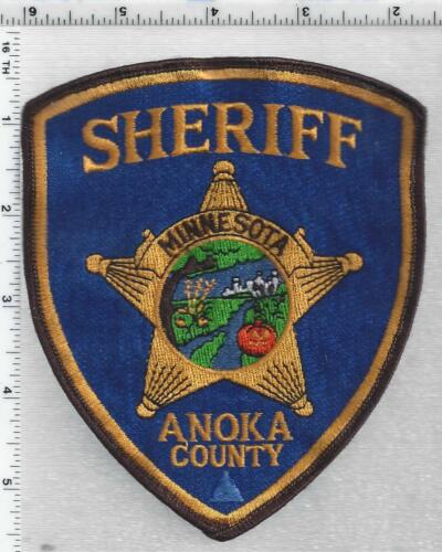 Anoka County Sheriff (Minnesota) 3rd Issue Uniform Take-Off Shoulder patch