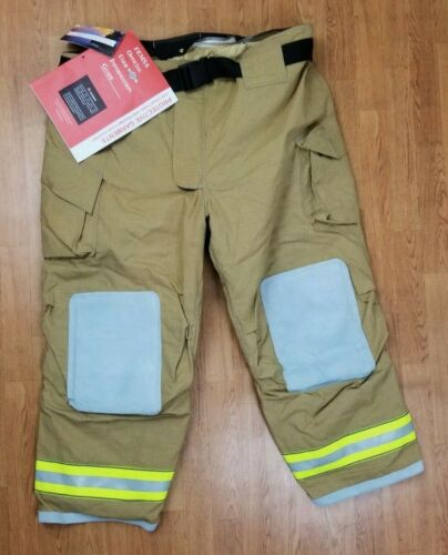 Cairns MFG. 2015 NEW Firefighter Turnout Bunker Pants 52 x 30
