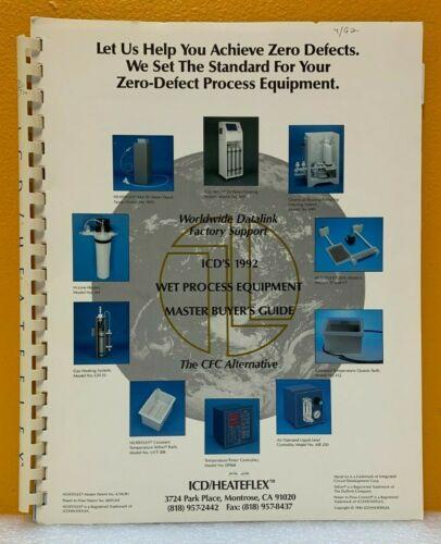 ICD / Heatflex 1992 Wet Process Equipment Master Buyer