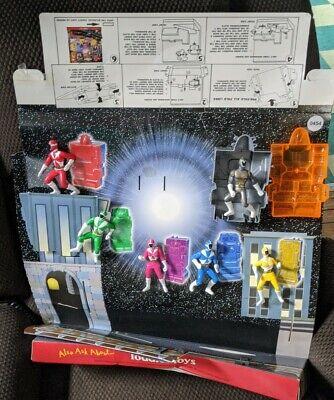 2000 Saban's Power Rangers Action Figure McDonald's Happy Meal Display Vtg rare