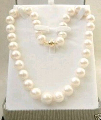 9-10mm White Akoya Cultured Pearl Necklaces 18