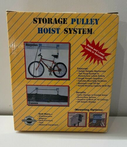BAC Industries Storage Pulley Hoist System NEW IN BOX, Storage READY