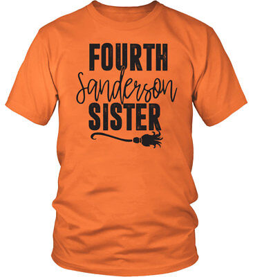 Ladies Halloween Hocus Pocus Costume Party T-Shirt - FOURTH SANDERSON SISTERS