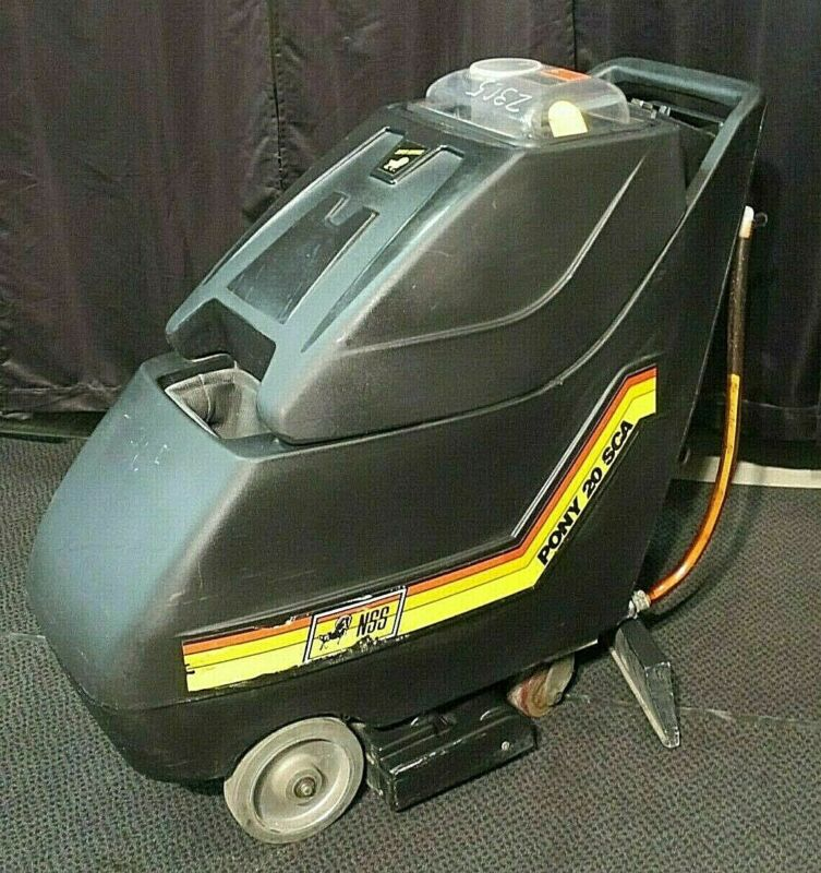 Professional Carpet Cleaner Extractor NSS Pony 20 SCA