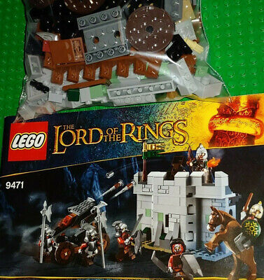 LEGO Lord of the Rings: Uruk-hai Army 9471 (Attaches to Helm's Deep)