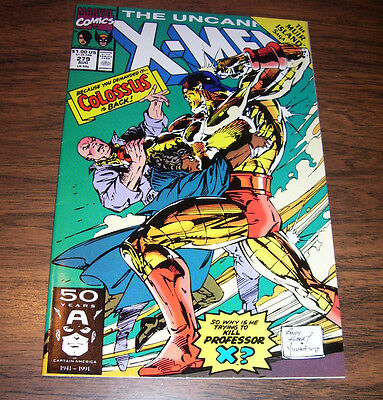 Uncanny X Men Issue  279 Direct Edition Marvel 1991 Andy Kubert Nm