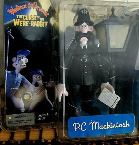 P C Mackintosh from Wallace & Gromit Curse of the Were Rabbit  Macfarlane Toys