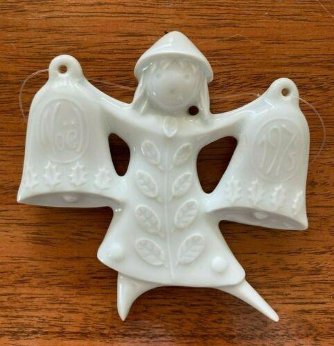 Haviland Dancing Bells Porcelain Ornament 1973 France