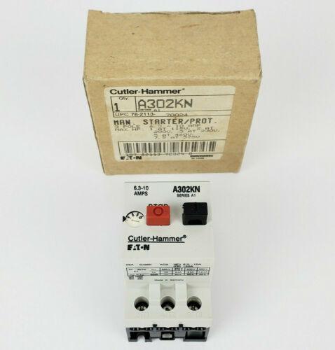 Cutler Hammer A302KN Manual Motor Starter Protector, New!