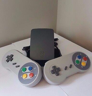 Raspberry Pi Retro Console Arcade Emulator-Raspberry Pi 3-32GB-12 Month Warranty