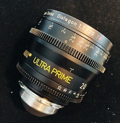 Arri/Zeiss Ultra Prime 20mm t/1.9 - Excellent Condition - PL Mount for sale  Irvine