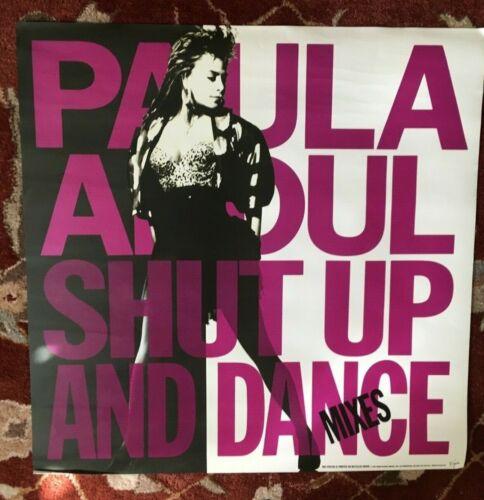 PAULA ABDUL  Shut Up And Dance  original promotional poster