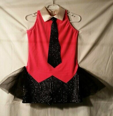 Women In Tutus (Dance costume adult large Black and Bright Pink Boy Short with Tutu in)
