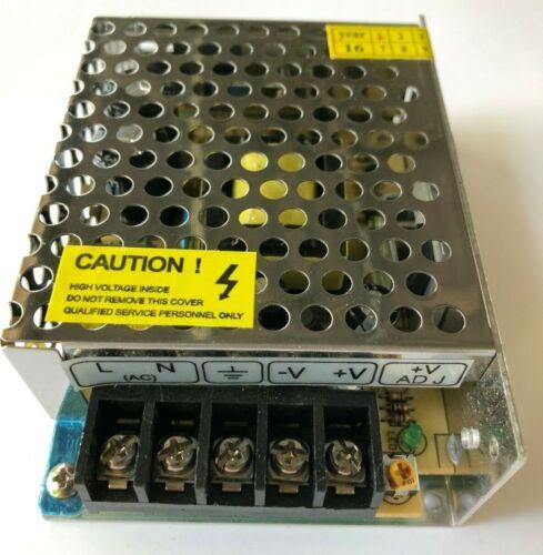 Switching Power Supply 12V - S-60-12, S-120-12, S-180-12, S-250-12, S-360-12