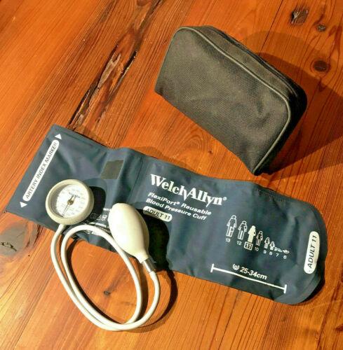 Welch Allyn FlexiPort Reusable Blood Pressure Cuff – Adult Size 11 Cuff w/ Case