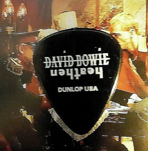 DAVID BOWIE Mark Plati Heathen Tour guitar pick