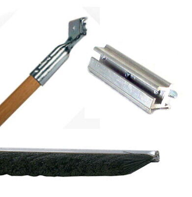 Sealcoating 36 Heavy Duty Power Brush Set Handle Holder Poly Brush Squeegee