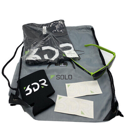 3DR Solo Swag Pack: Bag, Shirt, Koozie, Shades, Decals - 3DR Solo Accessories