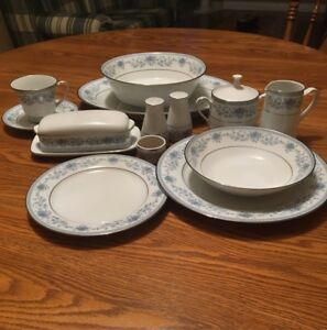 Noritake China Blue Hill