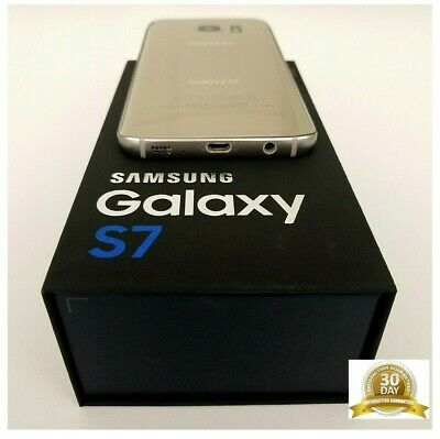 Android Phone - SAMSUNG GALAXY S7 SM-G930V 32GB GOLD VERIZON UNLOCKED, STRAIGHT TALK, TRACFONE