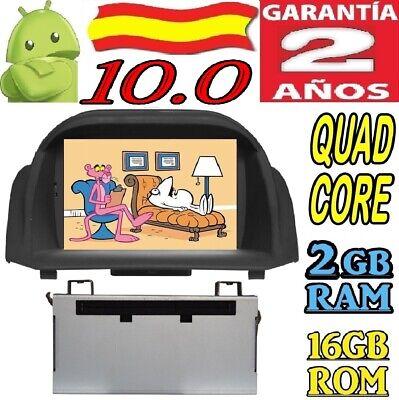 ANDROID 10.0 FORD FIESTA 2013 DVD GPS RADIO COCHE 2GB USB BLUETOOT...