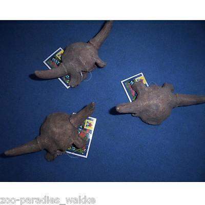 Büffelschädel mit Hörner - Dekoration für`s  Aquarium / Terrarium