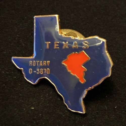 Rotary International Pin TEXAS ROTARY D-5870