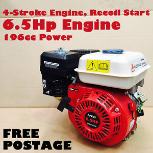 6.5HP Petrol Stationary Engine 4-stroke Motor OHV Horizontal Shaft