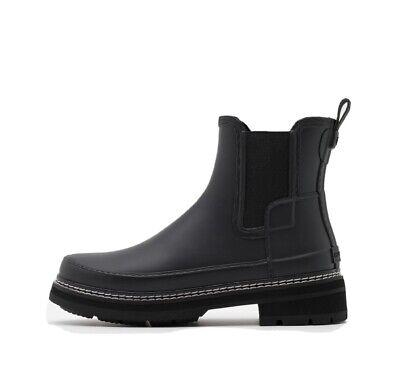 Hunter Wellie Boots Stitch Detail Bnwt Rrp £129