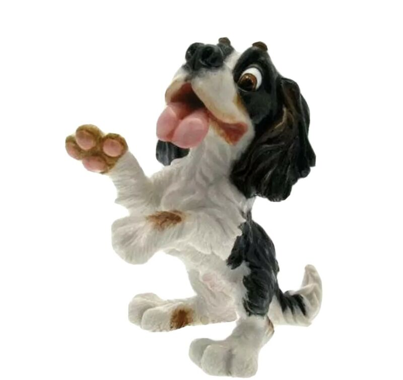 PETS WITH PERSONALITY ARORA DESIGNS PORTIA KING CHARLES SPANIEL DOG/PUPPY NEW