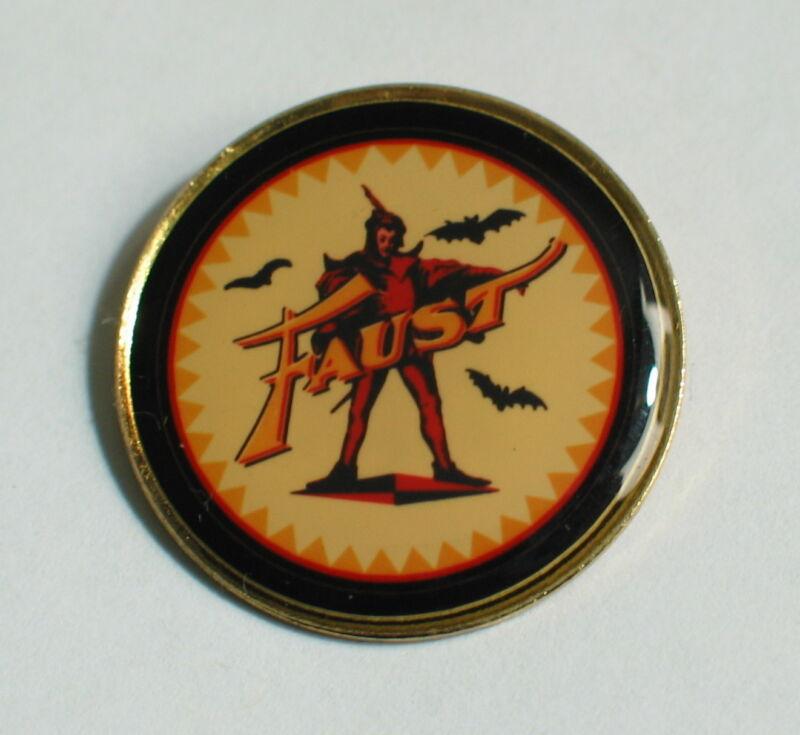 BUDWEISER Faust BEER  ANHEUSERBUSH PROMO PIN Badge