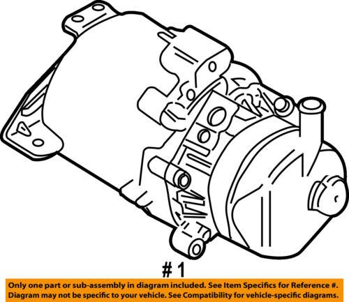 Mini Oem 02 11 Cooper Power Steering Pump 32416778425