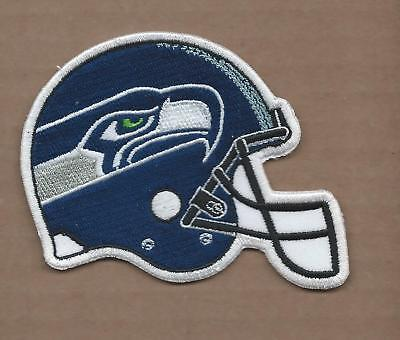 30347a4bb0f NEW 3 X 3 1/2 INCH SEATTLE SEAHAWKS HELMET IRON ON PATCH FREE SHIPPING
