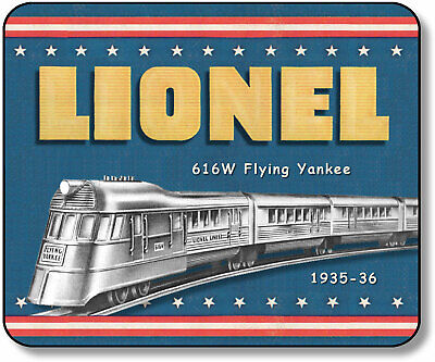 "Lionel 616W Flying Yankee Steamer ""O"" PreWar Mouse Pad"