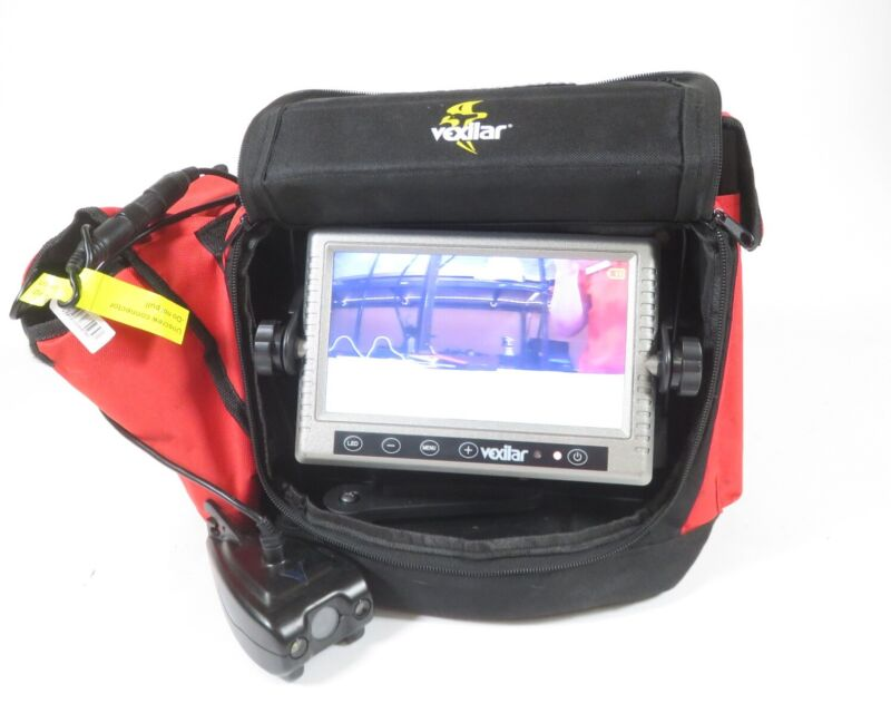 Vexilar FSM100D Fish Scout Underwater Camera Fishing Monitor System - Red/Black