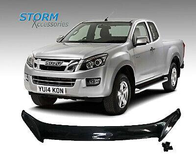 ISUZU D-MAX 2012-2016 STX BONNET GUARD PROTECTOR - BONNET PROTECTION - BUG GUARD