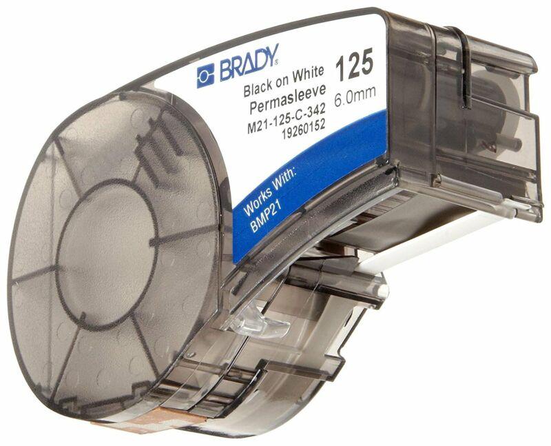 Brady M21-125-C-342 PermaSleeve Heat-Shrink Sleeve Label