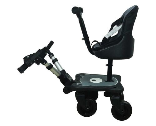 Englacha 2-in-1 Cozy 4 Wheel Rider Stroller Board & Seat New! Free Shipping!!