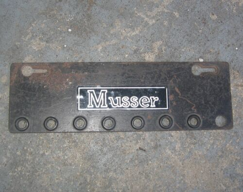 1950s Musser Vibraphone Mallet Rack. Fits Eight Mallets.