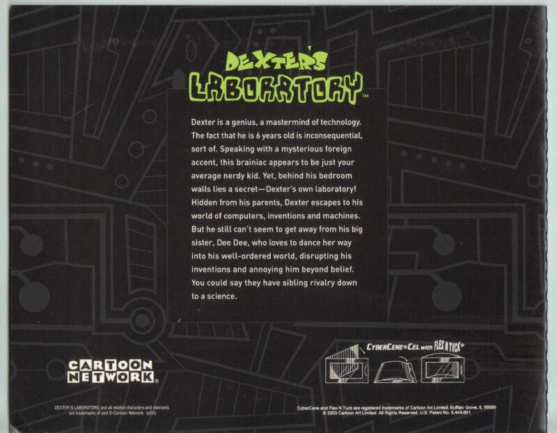 2003 Dexter /& Dee Dee Great gift! DEXTER/'S LABORATORY promo cybercene cel 3D